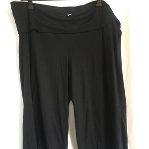 Old navy fold over yoga pants